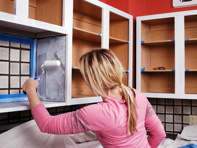 How to Paint Kitchen Cabinets Very Easy and Fast