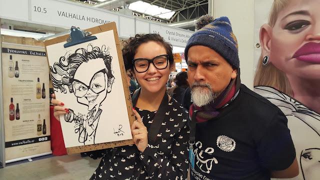 caricaturista en España - Leonardo Rodríguez