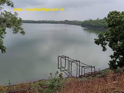 Khandari Lake jabalpur | खंदारी झील जबलपुर | khandari waterfall