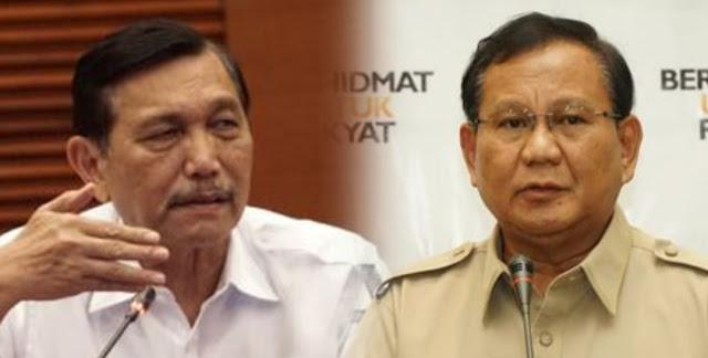 Luhut Telepon Prabowo soal Para Pembisik: Wo, Hati-hati Kamu