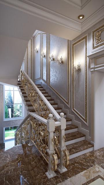 staircase handle design ideas