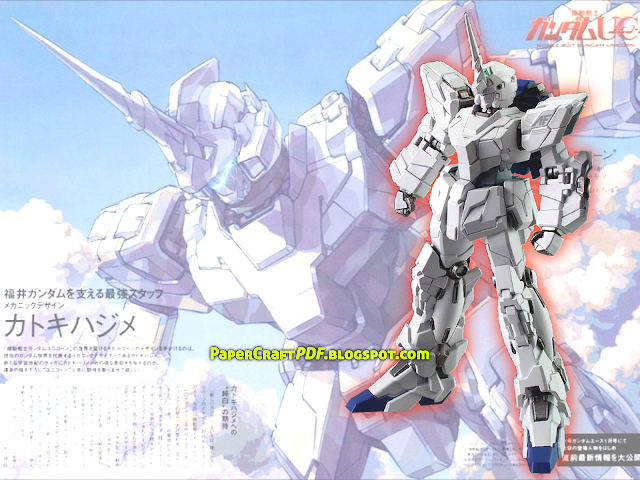 Gundam papercraft Download Pdf free