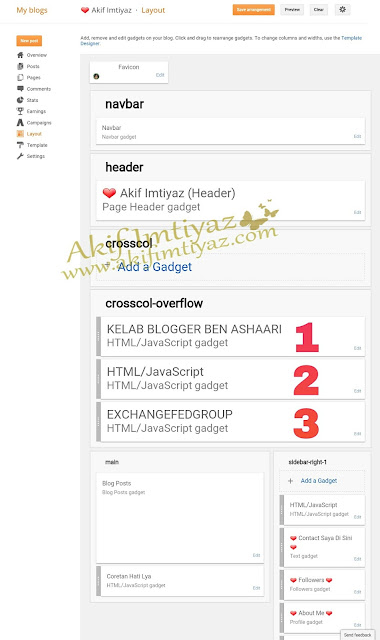 Tutorial Add A Widget , Tutorial Blog , Blog Tutorial , Cara Tambah Kolom Atau Widget Bawah Header Blog , Cara Buat Blog ,