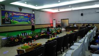 78 Peserta Ikuti Seleksi Lomba Dai-Daiyah di Polres Jombang
