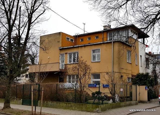 Warszawa Warsaw Dolny Żoliborz architektura ulica ulice Żoliborza willa