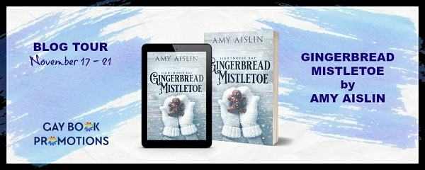 Gingerbread Mistletoe by Amy Aislin Blog Tour
