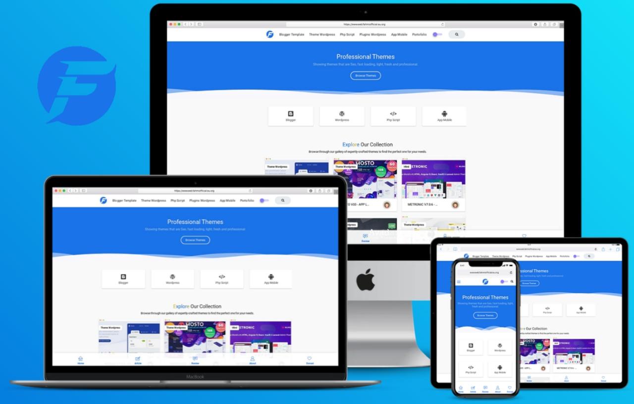 Fmtheme Premium Responsive Blogger Template