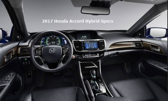2017 Honda Accord Hybrid Inside