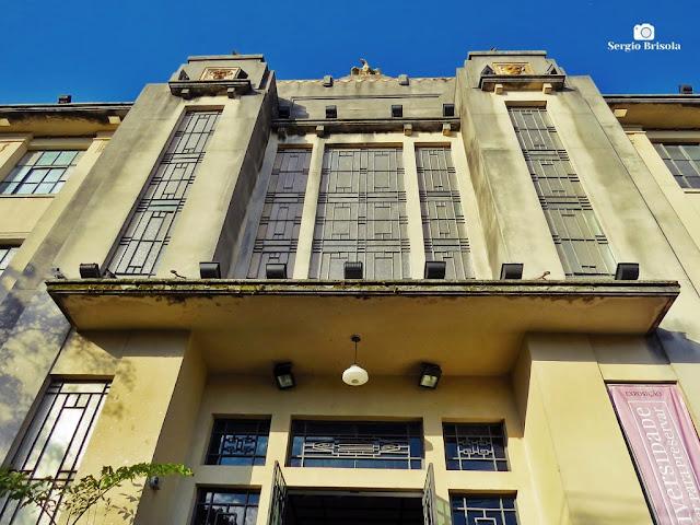 Vista da fachada do Museu de Zoologia da USP - Ipiranga