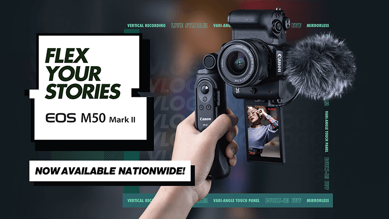 Canon EOS M50 Mark II now in PH, starts at PHP 36,998