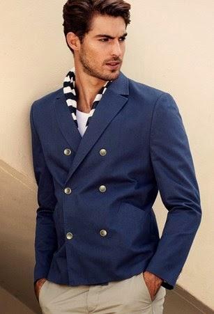Trend fashion style gaya busana pakaian pria 2015 - Blazer dua kancing