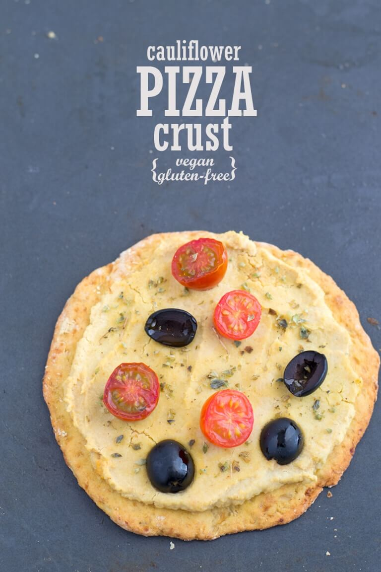 Cauliflower PIZZA Dough (Vegan and Gluten-Free) | danceofstoves.com