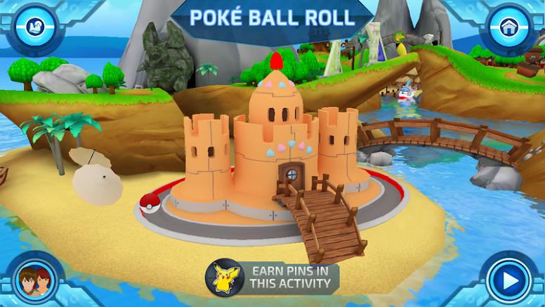 Camp Pokémon - Poké Ball Roll