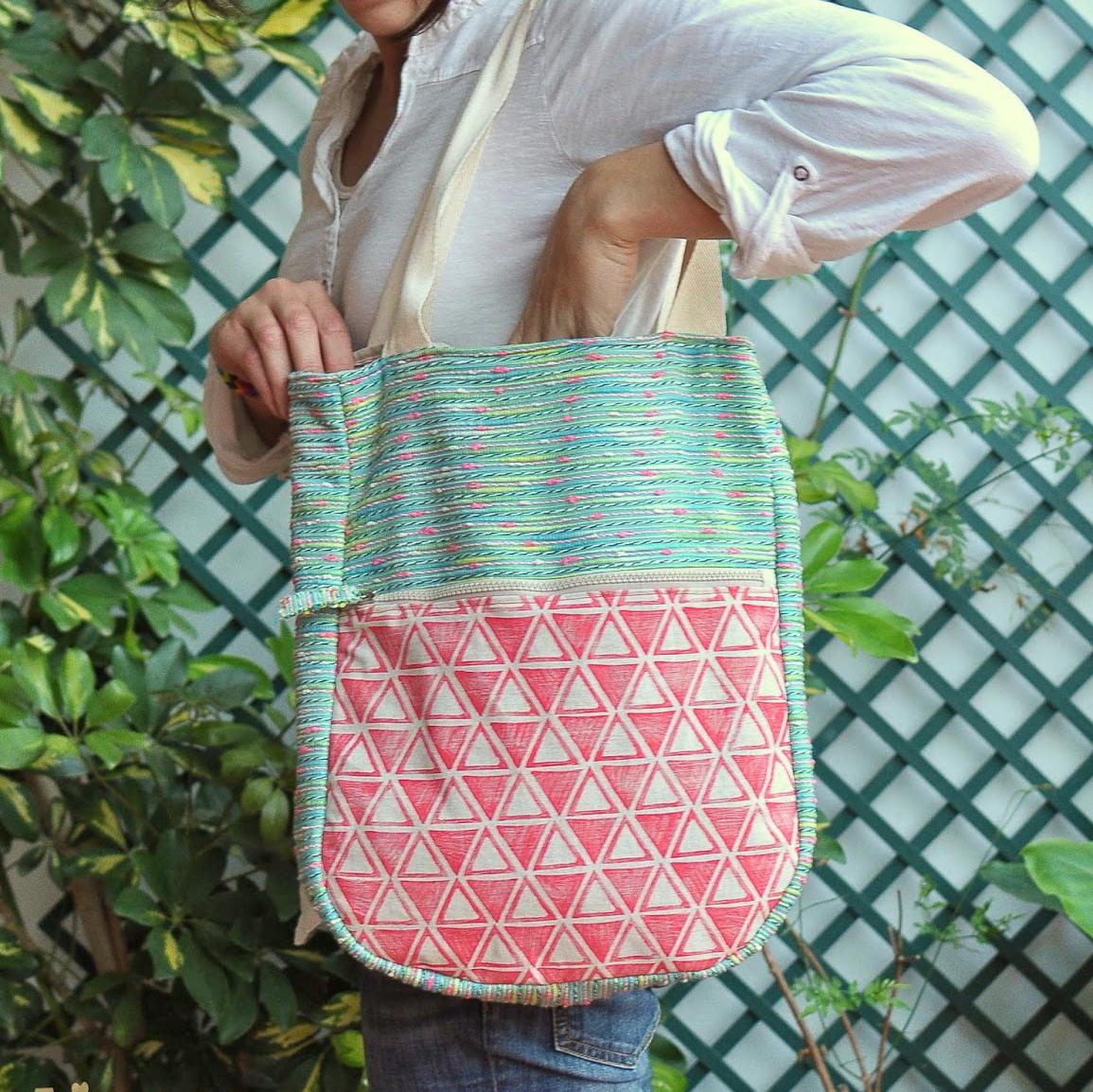 Summer Bag Sewing Tutorial