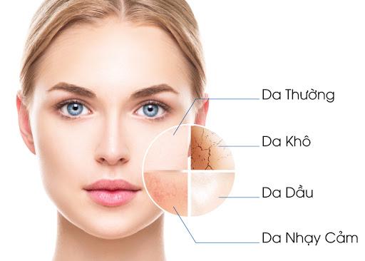 Cách để nhận biết và phân biệt da khô so với các loại da khác