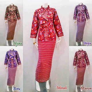 Model Baju Batik Seragam Kerja Bank Terbaru
