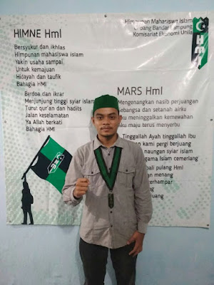 Feri Hardani Terpilih Menjadi Formatur Pada RAK HMI Cabang Bandar Lampung Komisariat Ekonomi Unila ke-42