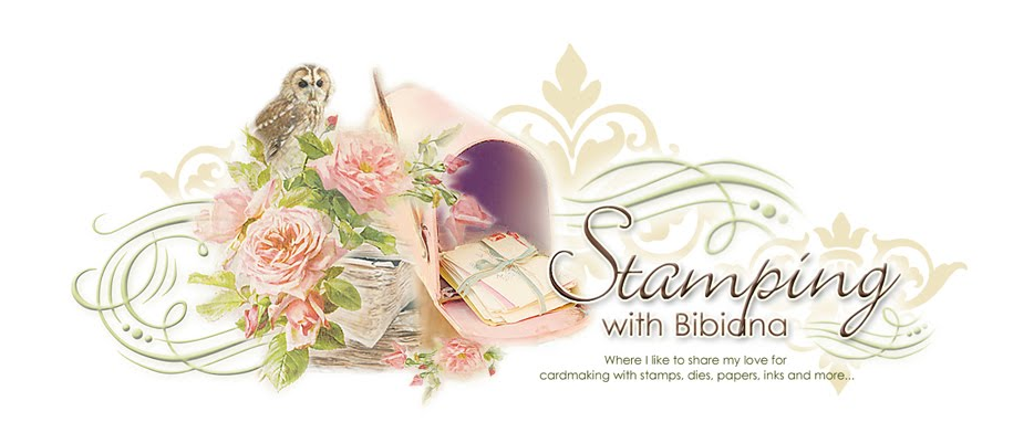 Stamping with Bibiana