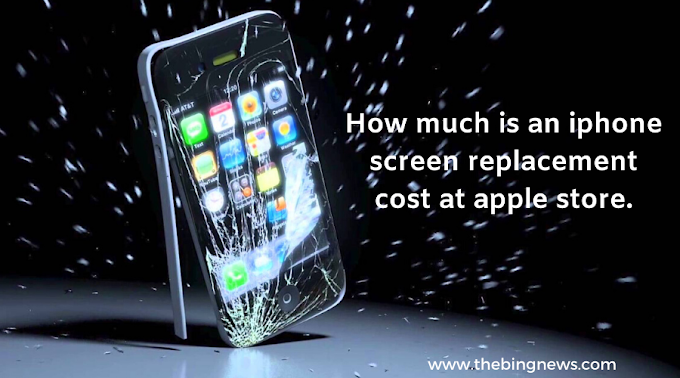 How much is an iphone screen replacement cost at apple store