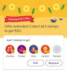 Rangoli Bonanza event - Now Golden Chance to grab one Rangoli stamp