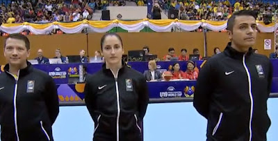 FIBA U19 Women - Mehmet Karabilecen