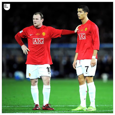 "#Cristiano #Ronaldo: ""I miss playing with #Rooney. He was the kid of #England, everyone loved him. He was so powerful I was calling him 'Pitbull.' The power of #Wayne #Rooney is his mentality and strength and he never stops. He's a fantastic #team #player and a #fantastic boy."" ❤ #CR7"