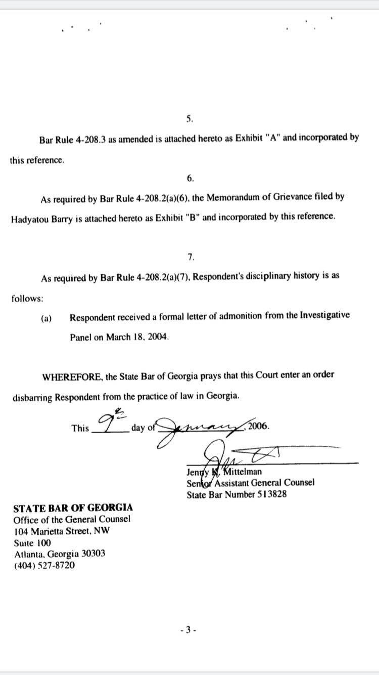 Image result for femi gbajabiamila and georgia court