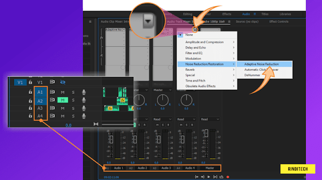 Cara Menghilangkan Background Noise di Premiere Pro