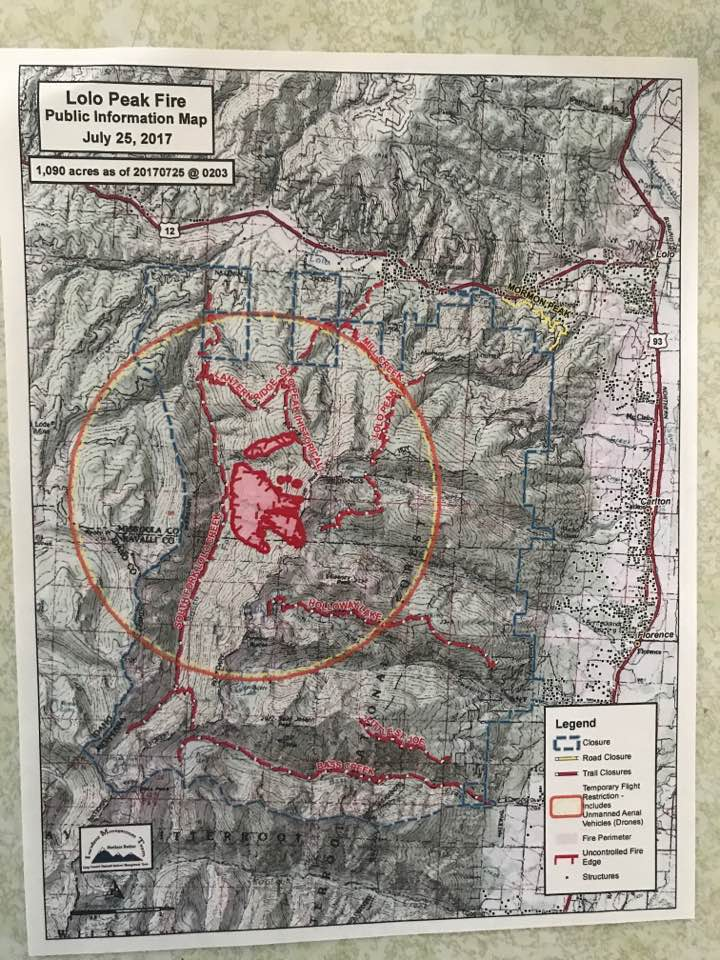 View From The Valley Important Information About The Lolo Peak Fire