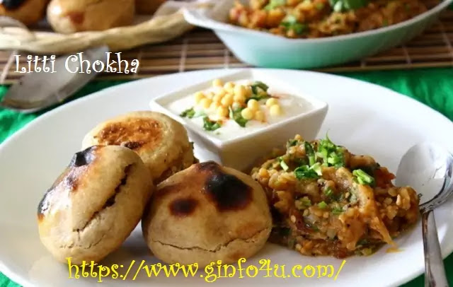 litti chokha recipe-how-to-make-litti chokha recipe-at-home-Ginfo4u