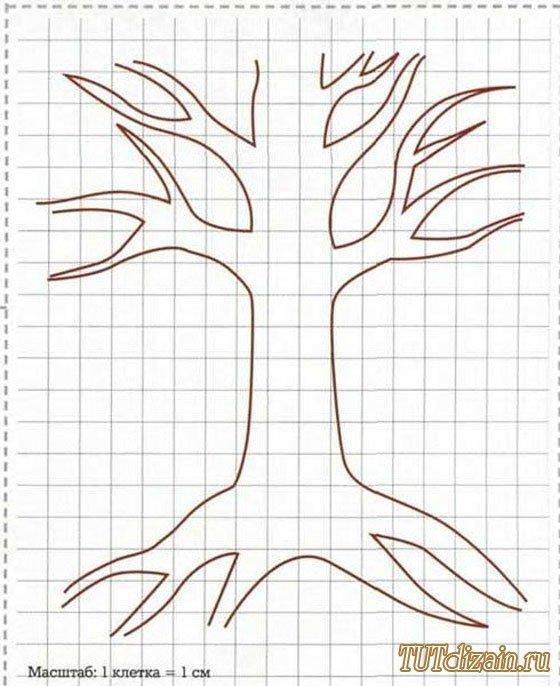 decoración, manualidades, bricolaje, árbol, genealógico,