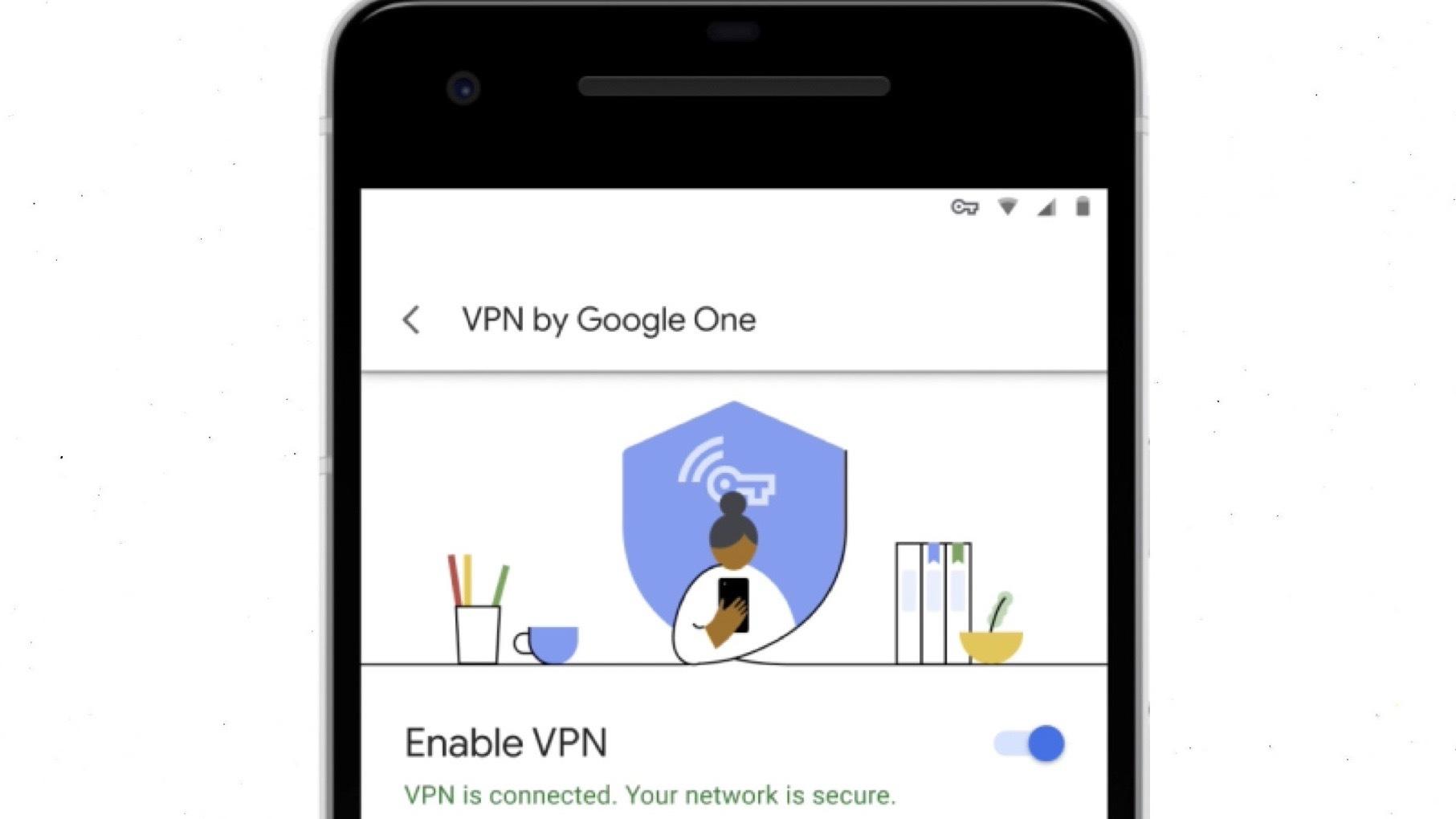 جوجل تطرح برمجية VPN خاصة بها للإستخدام