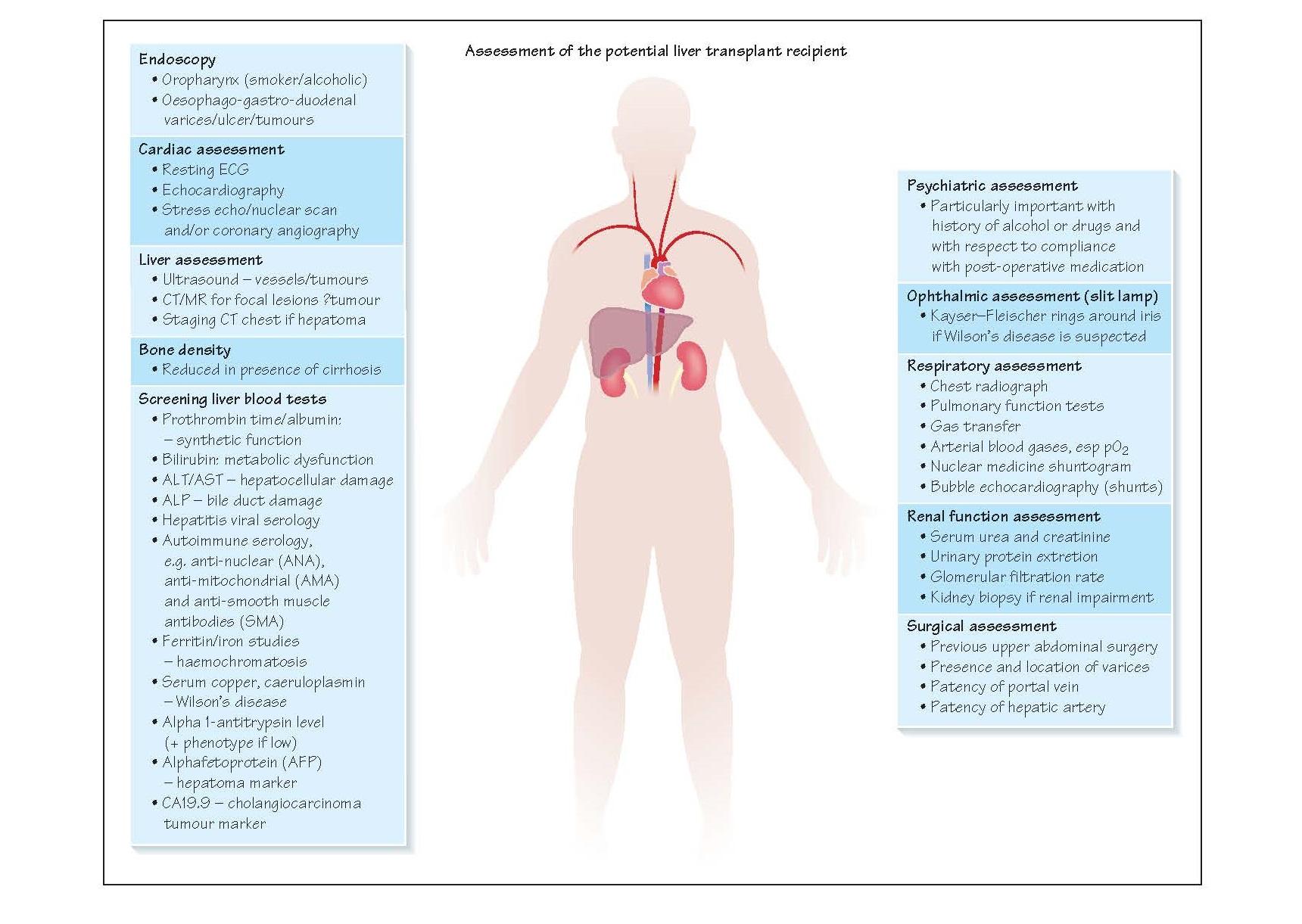 Assessment For Liver Transplantation