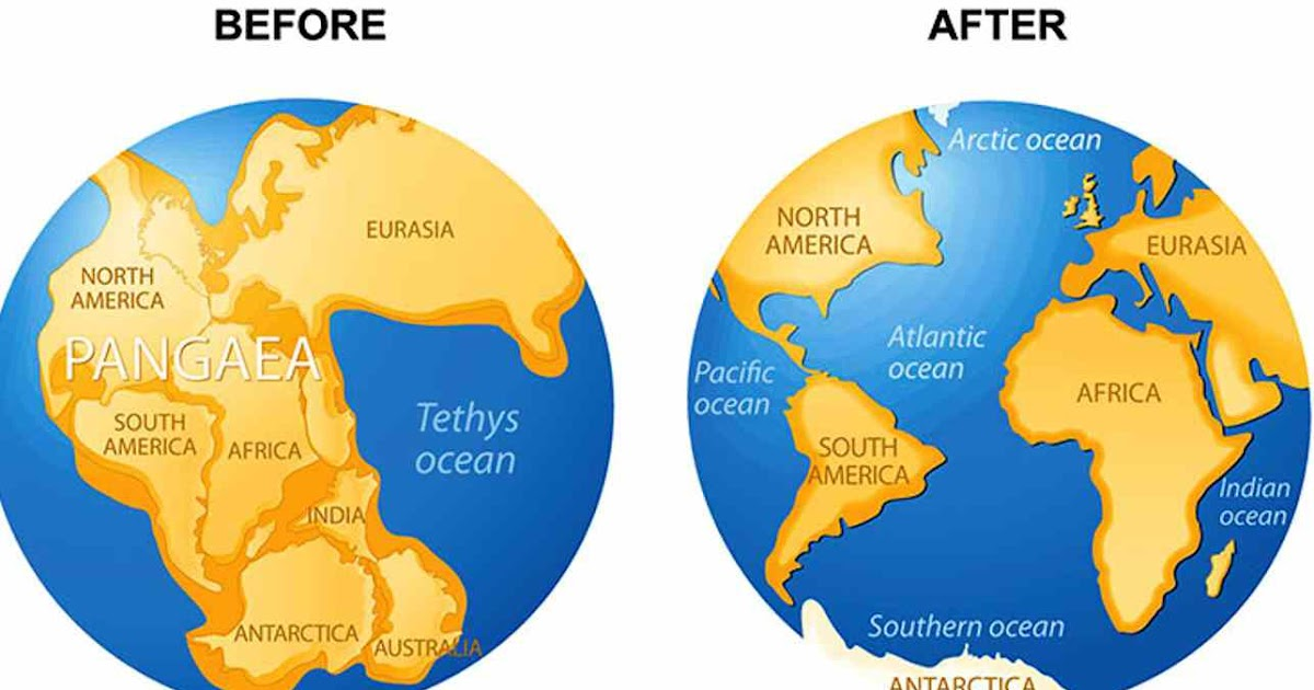 Facts About Pangaea The Most Recent Supercontinent
