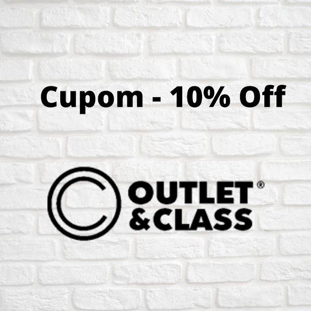 Cupom de desconto Outlet & Class - 10% Off em todo o site!
