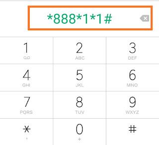 Cek nomor M3 via dial