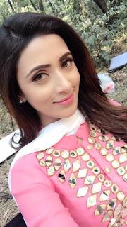 Bidya Sinha Saha New Selfie In Pink Dress