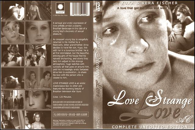 Amor Estranho Amor. Fotografias sin censura. Xuxa. Amor extraño amor