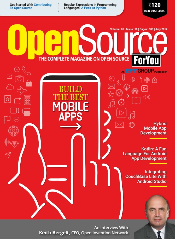 Open Source For You - July 2017 - FREE KENZ