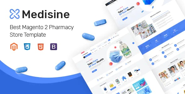 Best Drug and Medical Store Magento Theme