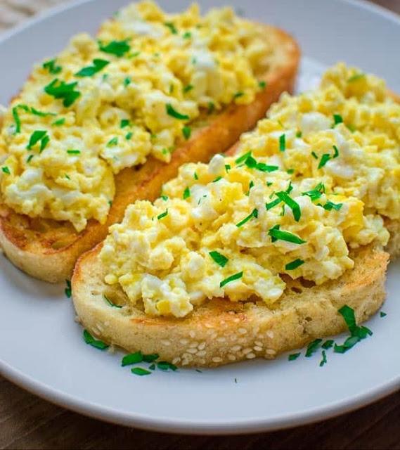 resepi sihat roti telur scrambled sihat  mudah disediakan jom sihat blog Resepi Roti Farina Enak dan Mudah