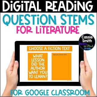 https://www.teacherspayteachers.com/Product/Digital-Reading-Question-Stems-Literature-5363542