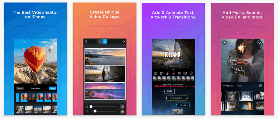 VidLab is the ideal mobile app for creative people