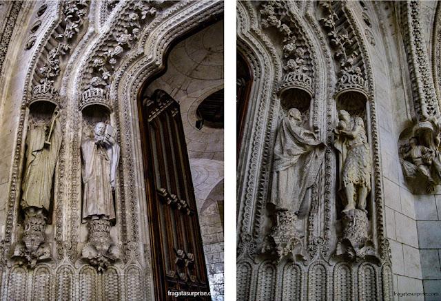 Entrada do Claustro da Basílica da Sagrada Família, Barcelona