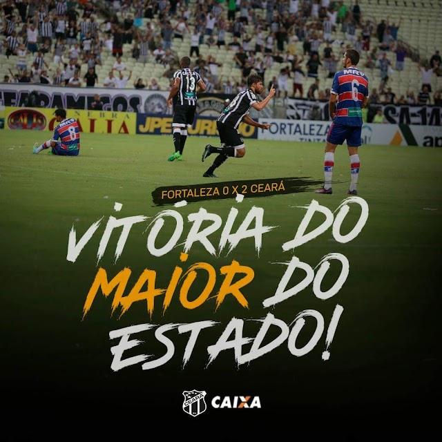 Fortaleza 0 x 2 Ceará: Eles tinham razão, o papai voltou!