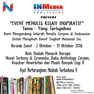 Lomba Menulis Cerita Inspiratif - INMedia Publishing