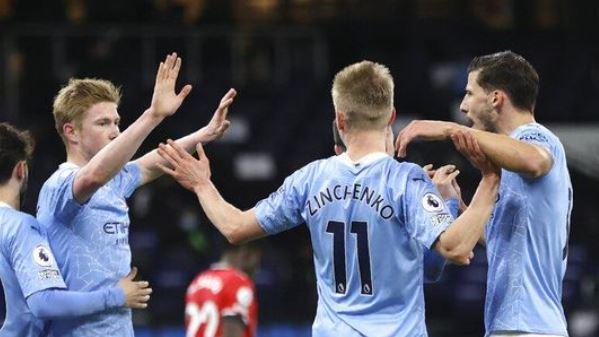 Manchester City vs Southampton 5–2 Highlights