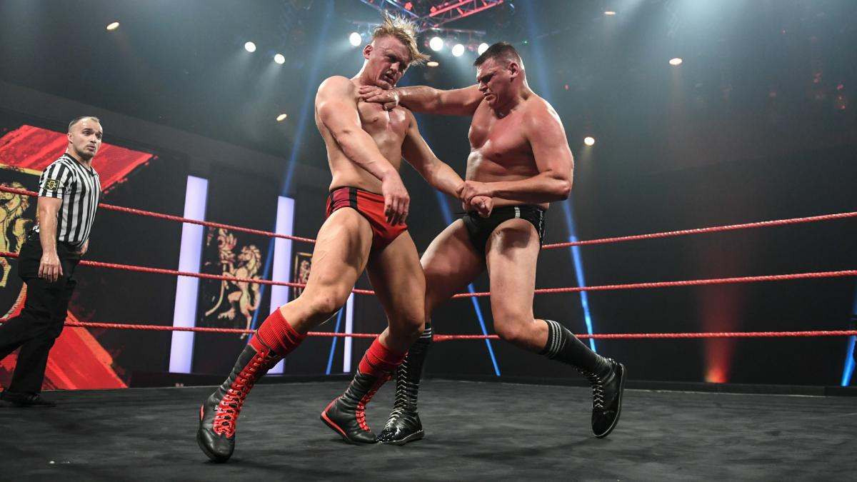 Ilja Dragunov and WALTER on WWE NXT UK