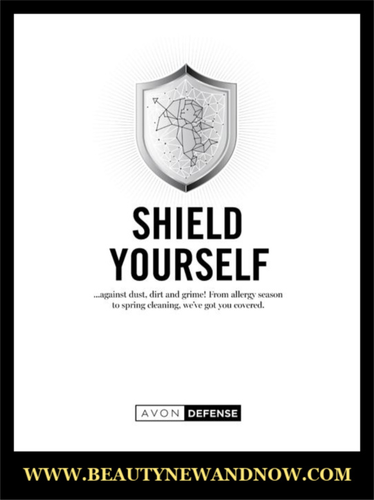 AVON Shield Yourself Flyer Campaign 15 Brochure - AVON Online 2020 😷