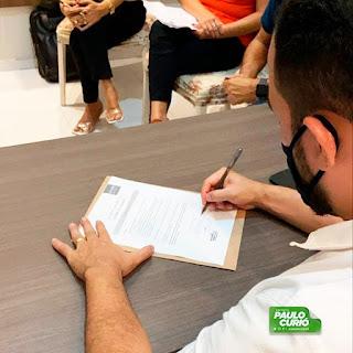 Turilândia: Prefeito Paulo Curió assina termo de adesão ao Selo Unicef